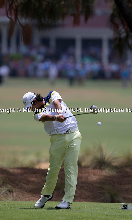 Hideki MATSUYAMA (JPN) during third round US Open Championship 2014,Pinehurst No 2,Pinehurst,North Carolina,USA.