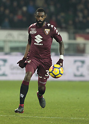 December 16, 2017 - Turin, Italy - Nicolas N'Koulou during Serie A match between Torino v Napoli, in Turin, on December 16, 2017  (Credit Image: © Loris Roselli/NurPhoto via ZUMA Press)