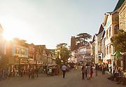 Mall road, Shimla, India