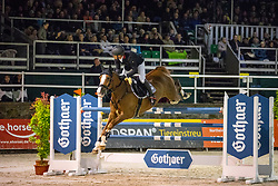 BRINKMANN Markus (GER), Light Fly Lady<br /> Nörten-Hardenberg - Burgturnier 2018<br /> Gothaer Trophy<br /> Internationale Springprüfung mit Siegerrunde (1,45 m)<br /> 18. Mai 2019<br /> © www.sportfotos-lafrentz.de/Stefan Lafrentz