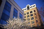 Harrisburg city center downtown architecture, urban renewal