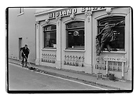 Cleaning Giffin street, SE8, London South-East London, 1982