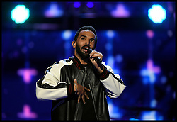 Craig David performs at the Royal Albert Hall in London for a star-studded concert to celebrate the Queen's 92nd birthday.
