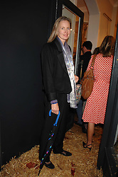 SERENA SOAMES at a party to celebrate the publication of Country Living by Kathryn Ireland held at Blanchards, 86-88 Pimlico Road, London SW1 on 25th September 2007.<br /><br />NON EXCLUSIVE - WORLD RIGHTS