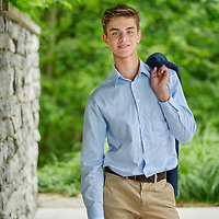 Sewickley, PA - June 13:  Quaker Valley High School student Alex Fox during his senior portrait session at Sewickley,, PA on June 13, 2021. (Photo by Shelley Lipton)