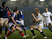 Howard Packman (Northampton Saints) during the 2015 Under 20s 6 Nations match between England and France at the American Express Community Stadium, Brighton and Hove, England on 20 March 2015.