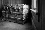Decorated Trunk, Laws, CA