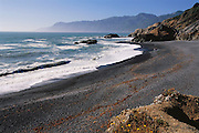 Northern California Coast: Shelter Cove (Lost Coast) in Humboldt County. Pacific Ocean.
