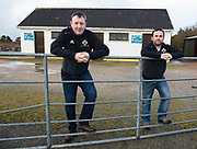 10/01/2018 Michael Coyne and Eamonn O Cualáin in Carna Co. Galway which has been depleted of population .<br />   .Photo:Andrew Downes, XPOSURE