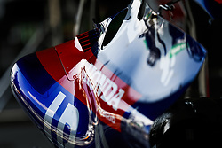 October 25, 2018 - Mexico-City, Mexico - Motorsports: FIA Formula One World Championship 2018, Grand Prix of Mexico, ..Helmet, detail  (Credit Image: © Hoch Zwei via ZUMA Wire)