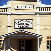 "Light House Petone is located in the old Labour Hall, off Jackson Street. The hall was built in 1926 and opened by Harry Holland who was the first Labour Member of Parliament. For the next 70 years the hall was used for dances, vaudeville concerts, political meetings and even film shows...Petone is a major suburb of the city of Lower Hutt in New Zealand. It is located at the southern end of the narrow triangular plain of the Hutt River, on the northern shore of Wellington Harbour. The name, from the Maori Pito-one, means ""end of the beach"" or ""short beach""...Petone was the first European settlement in the Wellington region and retains many historical buildings and landmarks. The first settlers arrived here in January 1840, on the ship Aurora. After the arrival of a second ship, the Cuba, plans were undertaken for the building of the settlement of Britannia on the site. As it sits in what was once the swamp, the earliest settlers found life hard, and new settlement was abandoned after only a few months. A new site was chosen around the shores of what is now the city of Wellington, New Zealand's capital.  24th January 2011. Photo Tim Clayton."