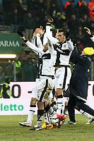 "Esultanza Nicola Sansone Parma.celebration.Parma 13/01/2013 Stadio ""Tardini"".Football Calcio Serie A 2012/13.Parma v Juventus.Foto Insidefoto Paolo Nucci."