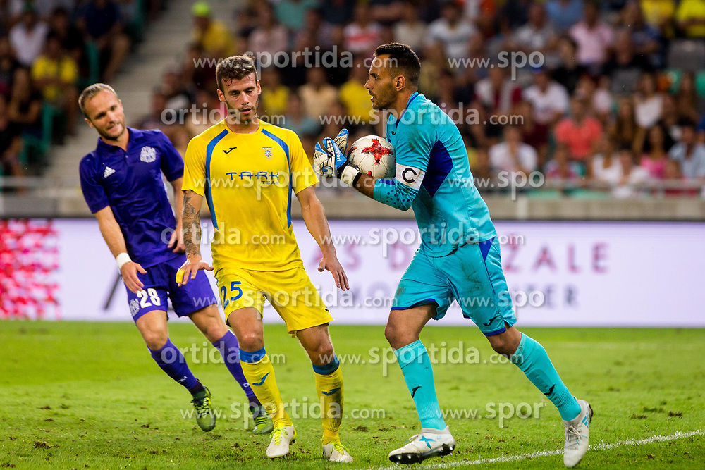 Dejan Milic of NK Domzale during football match between NK Domzale and Olympique de Marseille in First game of UEFA Europa League playoff round, on August 17, 2017 in SRC Stozice, Ljubljana, Slovenia. Photo by Ziga Zupan / Sportida