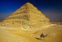 Step Pyramid of Saqqara, outside Cairo, Egypt