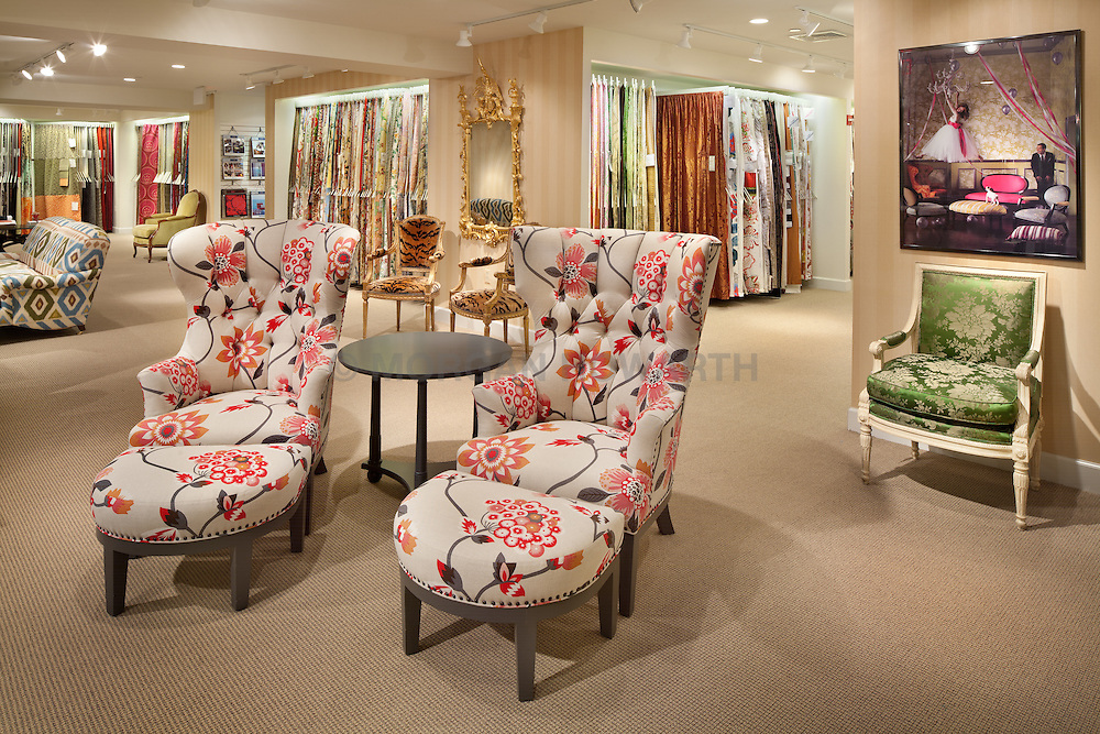 Brunschwig and Fils showroom at Washington DC Design Center