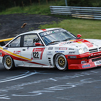 #122, Opel Manta, Sponsor: AvD, drivers: Beckmann, Hass, Strycek, Schulten at ADAC Total 24-Hour Race on 22.06.2019 at Nürburgring Nordschleife