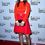 Sarah Vevers attend TriForce Short Festival, on 30 November 2019, at BFI Southbank, London, UK.