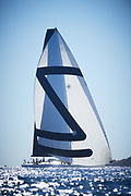 Wally Yachts racing in Saint Tropet during the voiles de Saint Tropez 2018 in South of France photographed by Jürg Kaufmann