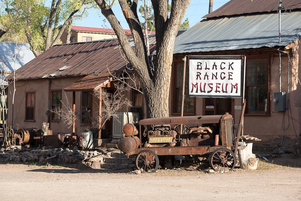 The Black Range Museum in Hilsboro, New Mexico.