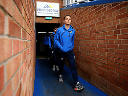 Tom Nichols of Bristol Rovers arrives at The ABAX Stadium, for the Sky Bet League One fixture against Peterborough United - Mandatory by-line: Robbie Stephenson/JMP - 24/03/2018 - FOOTBALL - ABAX Stadium - Peterborough, England - Peterborough United v Bristol Rovers - Sky Bet League One