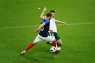 Nabil FEKIR (FRA), Declan Rice (IRL) during the FIFA Friendly Game football match between France and Republic of Ireland on May 28, 2018 at Stade de France in Saint-Denis near Paris, France - Photo Stephane Allaman / ProSportsImages / DPPI
