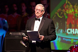 CARDIFF, WALES - Wednesday, June 1, 2016: FAW President David Griffiths during a charity send-off gala dinner at the Vale Resort Hotel ahead of the UEFA Euro 2016. (Pic by David Rawcliffe/Propaganda)