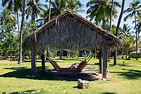 hammock in maracaipe near recife pernambuco state brazil