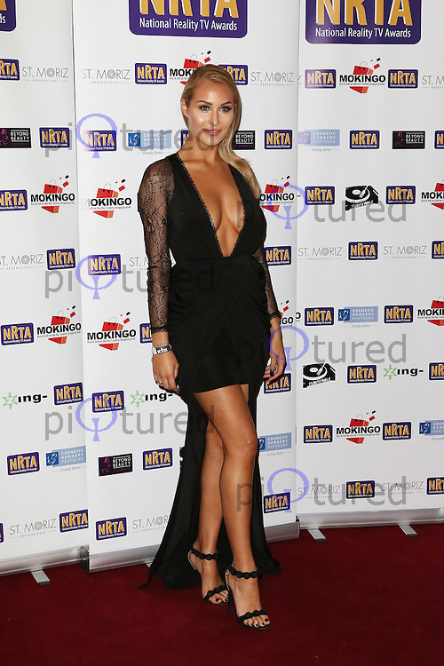 Chloe Goodman, National Reality TV Awards, Porchester Hall, London UK, 30 September 2015, Photo by Richard Goldschmidt