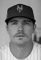 Pet Alonso of the N.Y. Mets poses for a portrait at Citi Field.<br /> <br /> (Photo/Tom DiPace)
