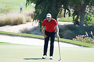 Niklas Lemke (SWE) on the 17th during Round 1 of the Commercial Bank Qatar Masters 2020 at the Education City Golf Club, Doha, Qatar . 05/03/2020<br /> Picture: Golffile   Thos Caffrey<br /> <br /> <br /> All photo usage must carry mandatory copyright credit (© Golffile   Thos Caffrey)