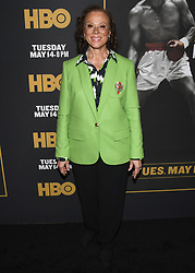 May 8, 2019 - Los Angeles, California, USA - 08, May 2019 - Pasadena, California. Lonnie Ali attends 'What's My Name | Muhammad Ali' HBO Documentary Premiere at Regal Cinemas LA LIVE 14 in Los Angeles, California. (Credit Image: © Billy Bennight/ZUMA Wire)