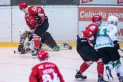 Slovenian ice hockey cup final match between HK Jesenice and HK SZ Olimpija on 7. September, 2019, Zlato Polje, Kranj. Photo by Grega Valancic / Sportida.