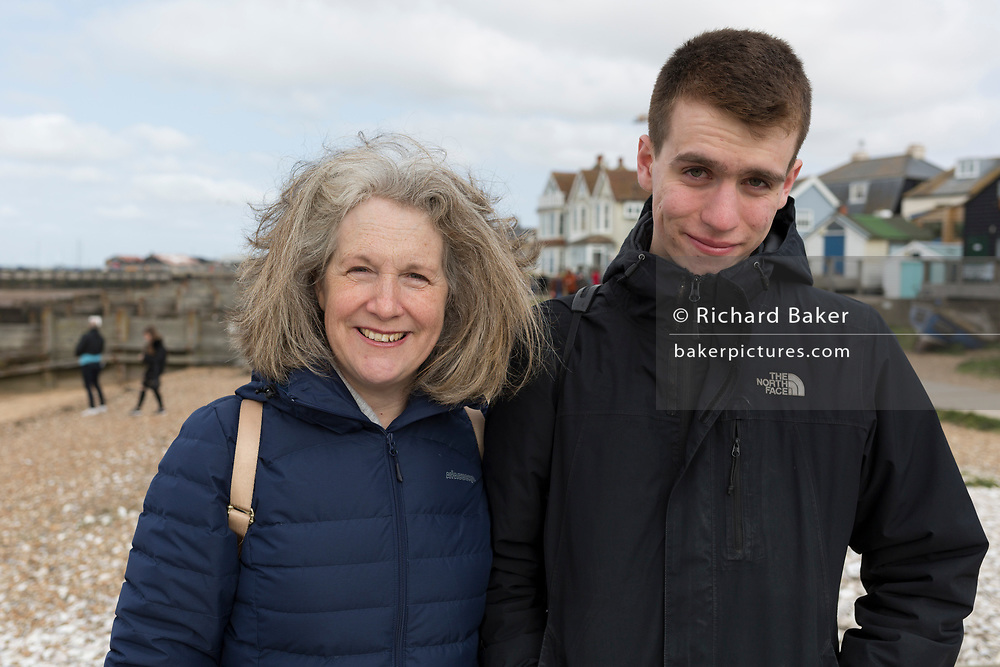 Sam's 21st birthday, on 31st March 2019, in Whitstable, Kent, England.
