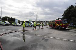 Junction into Woodend Est, Cowdenbeath<br /> <br /> (c) David Wardle | Edinburgh Elite media
