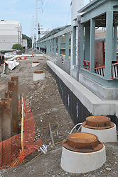 Construction Progress Photography of the Railroad Station at Fairfield Metro Center. 26th Site Visit of Once Per Month periodic photography coverage of the entire project. Primary Contractor: The Middlesex Corporation, Littleton, MA. Owner: Connecticut Department of Transportation. Serving Metro-North Commuter Railroad.