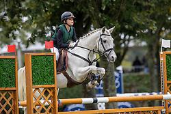 De Cock Matis, BEL, Addie van't Kamertje<br /> Nationaal Kampioenschap LRV Ponies <br /> Lummen 2020<br /> © Hippo Foto - Dirk Caremans<br /> 27/09/2020