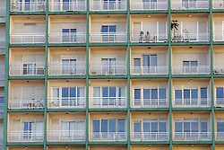 Prédio de múltiplas sacadas em Porto Alegre. FOTO: Jefferson Bernardes/Preview.com