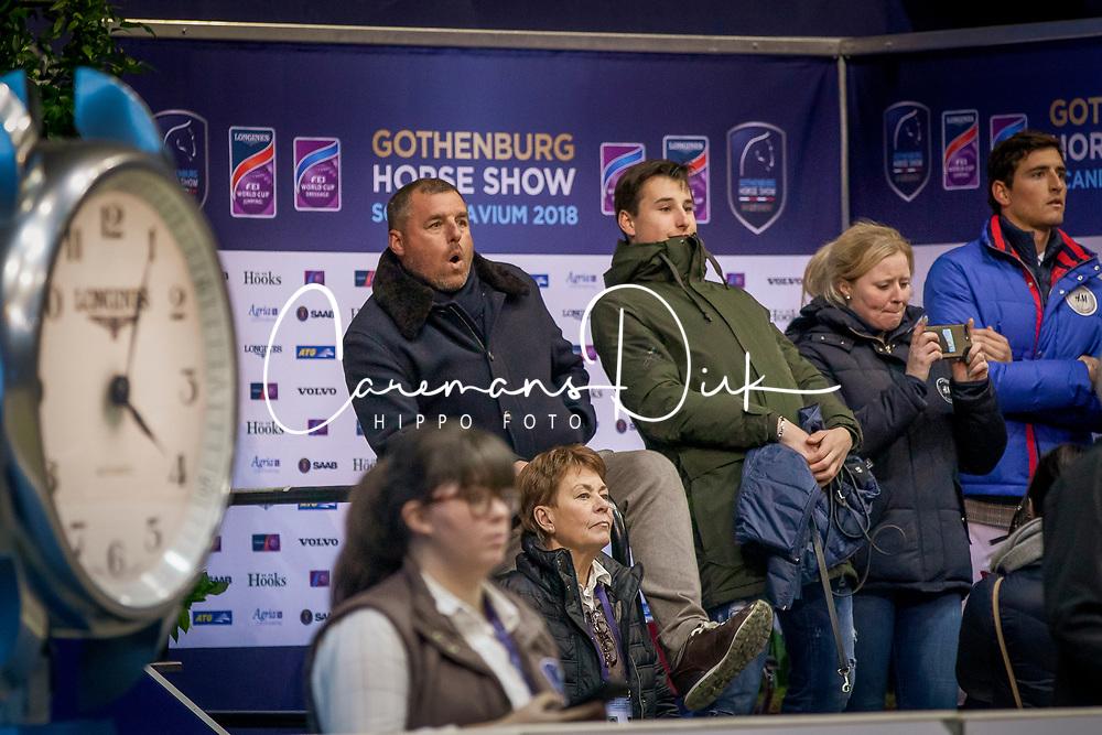 Philippaerts Ludo, Philippaerts Thibault, Philippaerts Nicola<br /> CSI-W Goteborg 2018<br /> © Hippo Foto - Dirk Caremans<br /> 25/02/2018
