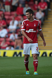 Nottingham Forest's Eric Lichaj  - Photo mandatory by-line: Nigel Pitts-Drake/JMP - Tel: Mobile: 07966 386802 25/08/2013 - SPORT - FOOTBALL -Vicarage Road Stadium - Watford -  Watford v Nottingham Forest - Sky Bet Championship