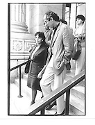 Claire Bloom, Philip Roth, New York. 1990 approx. © Copyright Photograph by Dafydd Jones 66 Stockwell Park Rd. London SW9 0DA Tel 020 7733 0108 www.dafjones.com