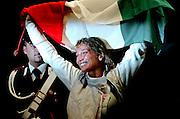© Filippo Alfero<br /> Torino, 01/10/2006<br /> Sport, Scherma<br /> Mondiali di Scherma 2006 - Torino - Fioretto femminile <br /> Nella foto: Margherita Granbassi, campionessa del Mondo fioretto