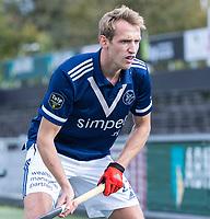 AMSTELVEEN -  Niklas Wellen (Pinoke)  tijdens   hoofdklasse hockeywedstrijd mannen,  AMSTERDAM-PINOKE (1-3) , die vanwege het heersende coronavirus zonder toeschouwers werd gespeeld. COPYRIGHT KOEN SUYK