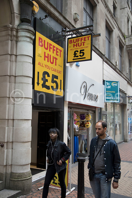 Buffet Hut all you can eat buffet restaurant in Birmingham, United Kingdom.