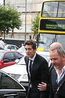 James Phelps arrives at the Dublin Premiere of Harry Potter and the Deathly Hallows: Part 2 at the Savoy Cinema Dublin Ireland