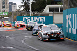 October 21, 2018 - Gold Coast, QLD, U.S. - GOLD COAST, QLD - OCTOBER 21: Scott Pye / Warren Luff in the Mobil 1 Boost Mobile Racing Holden Commodore (2) during the race at The 2018 Vodafone Supercar Gold Coast 600 in Queensland, Australia. (Photo by Speed Media/Icon Sportswire) (Credit Image: © Speed Media/Icon SMI via ZUMA Press)