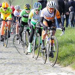 27-02-2016: Wielrennen: Omloop Nieuwsblad vrouwen: Gent<br />GENT (BEL) wielrennen<br />De opening van het Noord Europese wielerseizoen is traditioneel de opening van het wielerseizoen bij de mannen en vrouwen. Paterberg Anouska Koster