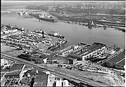"""""""Dock Commission. aerials of Terminal #1. June 2, 1951"""""""