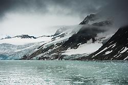 Fuglefjorden in Spitsbergen, Svalbard