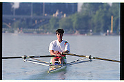 St Catherines, CANADA,  Women's Single Sculls, Bronze medalist, BUL W1X, Rumyana NEYKOVA, competing at the 1999 World Rowing Championships - Martindale Pond, Ontario. 08.1999..[Mandatory Credit; Peter Spurrier/Intersport-images]  .. 1999 FISA. World Rowing Championships, St Catherines, CANADA