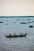Fishing, Canoe, Tonle Sap lake, Cambodia